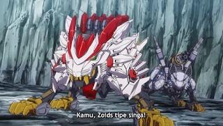 Zoids Wild Zero Episode 10 Subtitle Indonesia