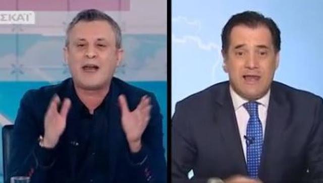 Άγρια τηλεοπτική κόντρα Άδ. Γεωργιάδη - Δ. Βέττα σε πρωινή εκπομπή (βίντεο)