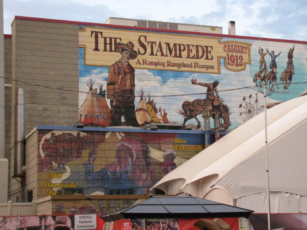 Murals And More Happy 100th Calgary Stampede