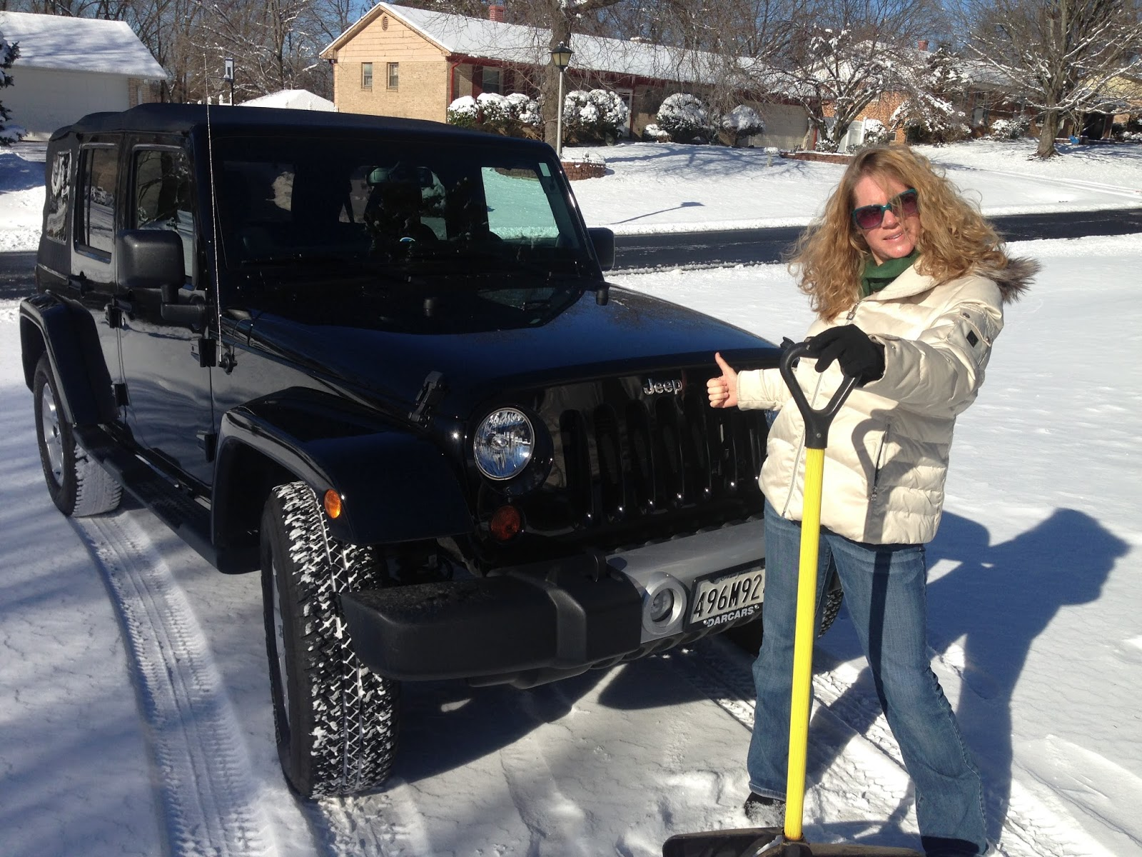 Jeep In Snow >> Jeep Momma Blog Snow Driving Jeep Tips