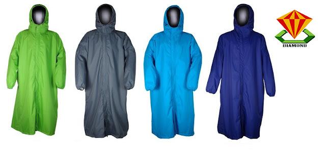 Nhận sản xuất áo mưa trùm đầu giá rẻ