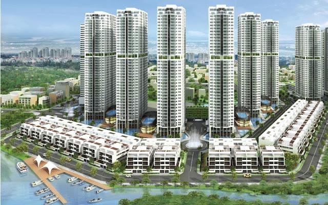 tổng thể căn hộ chung cư an gia river city quận 7