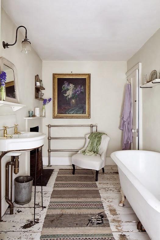 wystrój wnętrz, wnętrza, home decor, dom, mieszkanie, aranżacja, vintage, shabby chic, łazienka