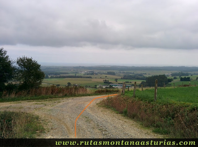 Ruta Das Minas PR AS-182: bajando a Boudois