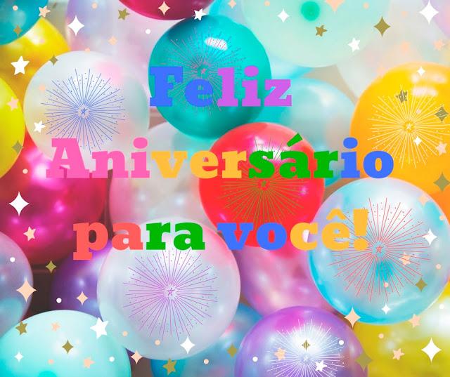 Feliz Aniversario para você muita paz amor e felicidade! Mensagem de Aniversário Para