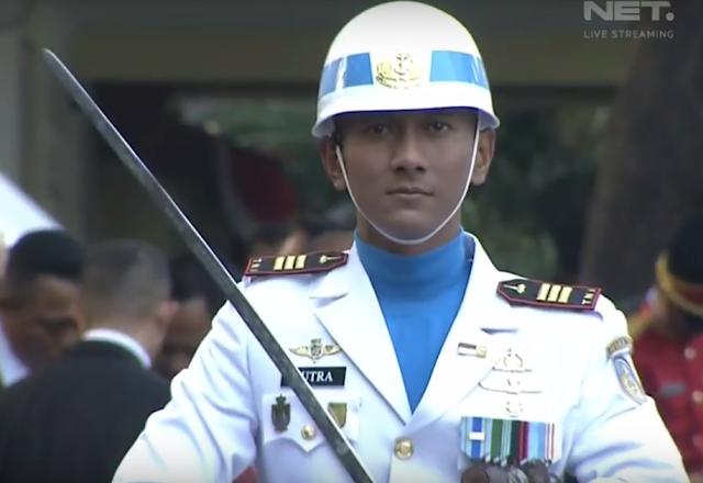 komandan kompi Paskibraka 2017