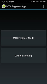 MTK Engineer App available on Google playstore.