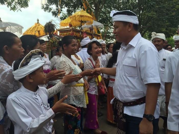 "Bupati Mustafa ""Kita punya festival ogoh-ogoh terbesar di Lampung"""