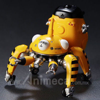 Figura Tachikoma Diecast Collection 03 Tachikoma Yellow Ghost in the Shell S.A.C.