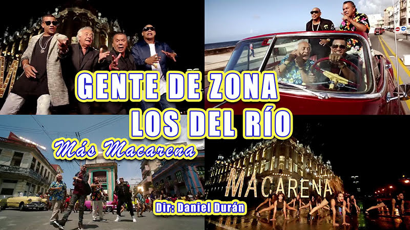 Gente de Zona y Los del Río - ¨Más Macarena¨ - Dirección: Daniel Durán. Portal del Vídeo Clip Cubano