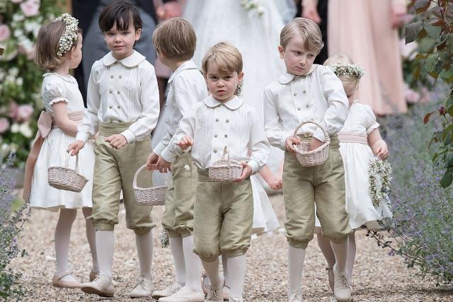 George i Charlotte będą czynnie uczestniczyć na ślubie księżniczki Eugenii!