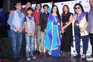 Gracy Singh and Bappi Lahiri   Blue Mountain Music Launch IMG 0692.JPG