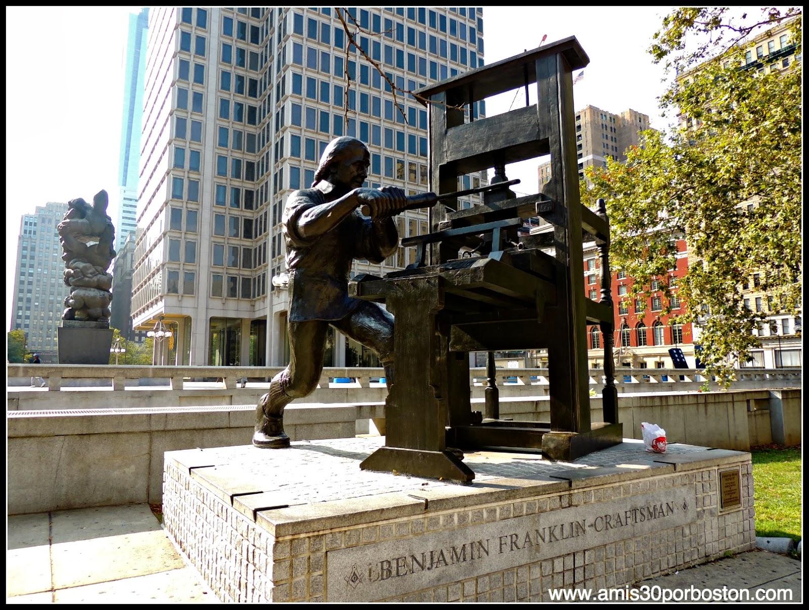 Filadelfia: Benjamin Franklin