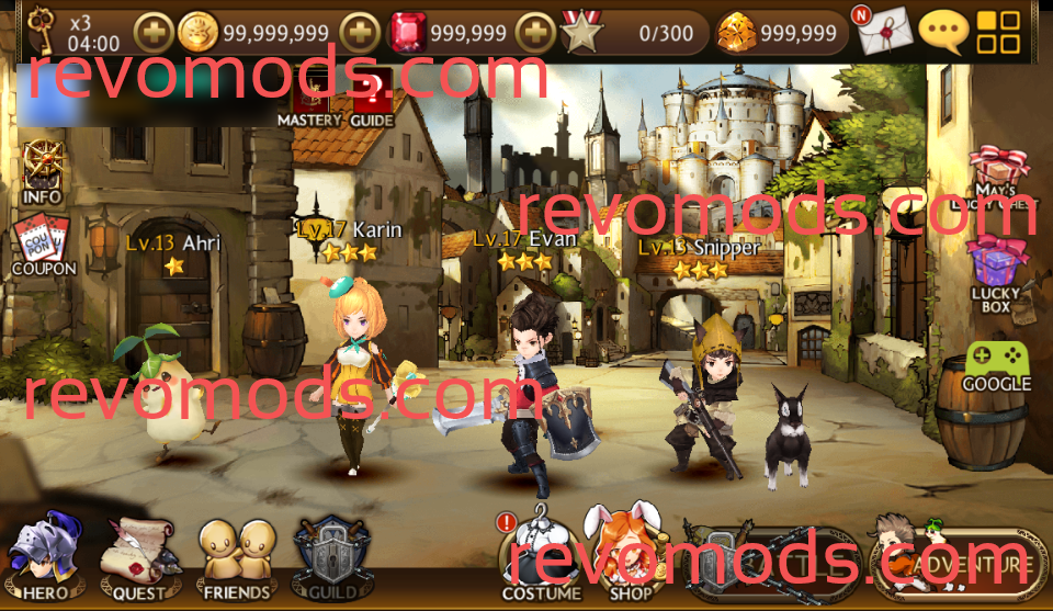 iOS + Android] Seven Knights Mod (Unlimited Gold, Rubies and