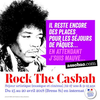 Colonie musique et cinéma Rock The Casbah de Pâques