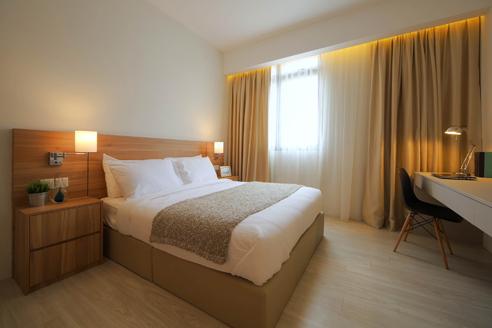 Hanson Court Suites 2BR - Bedroom 1