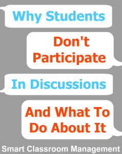 Why Students Don't Participate In Discussions And What To Do About It