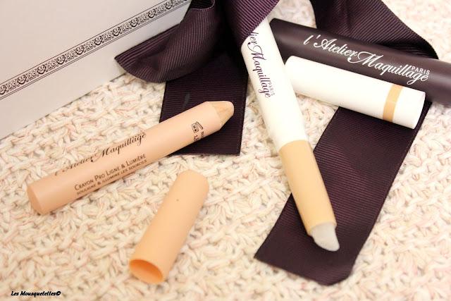 Crayon Pro Ligne & Lumière - L'Atelier Maquillage Paris - Blog beauté Les mousquetettes©