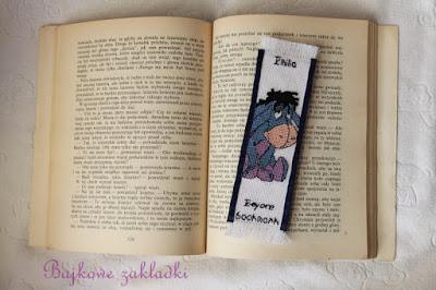 Zakładka z Kłapouchym – Eeyore bookmark