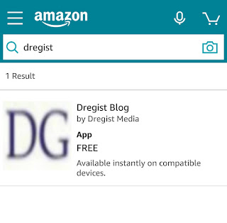 Dregist blog Mobile app download