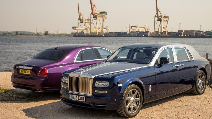 Wallpaper 2: Rolls-Royce Ghost 2015