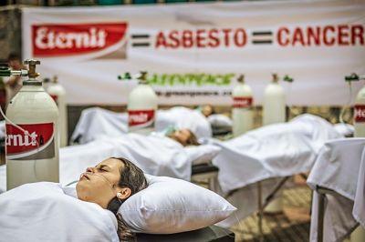 peligros del asbesto