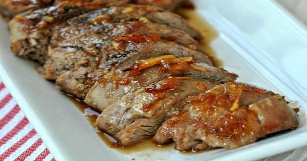 Honey Orange Glazed Pork Recipe