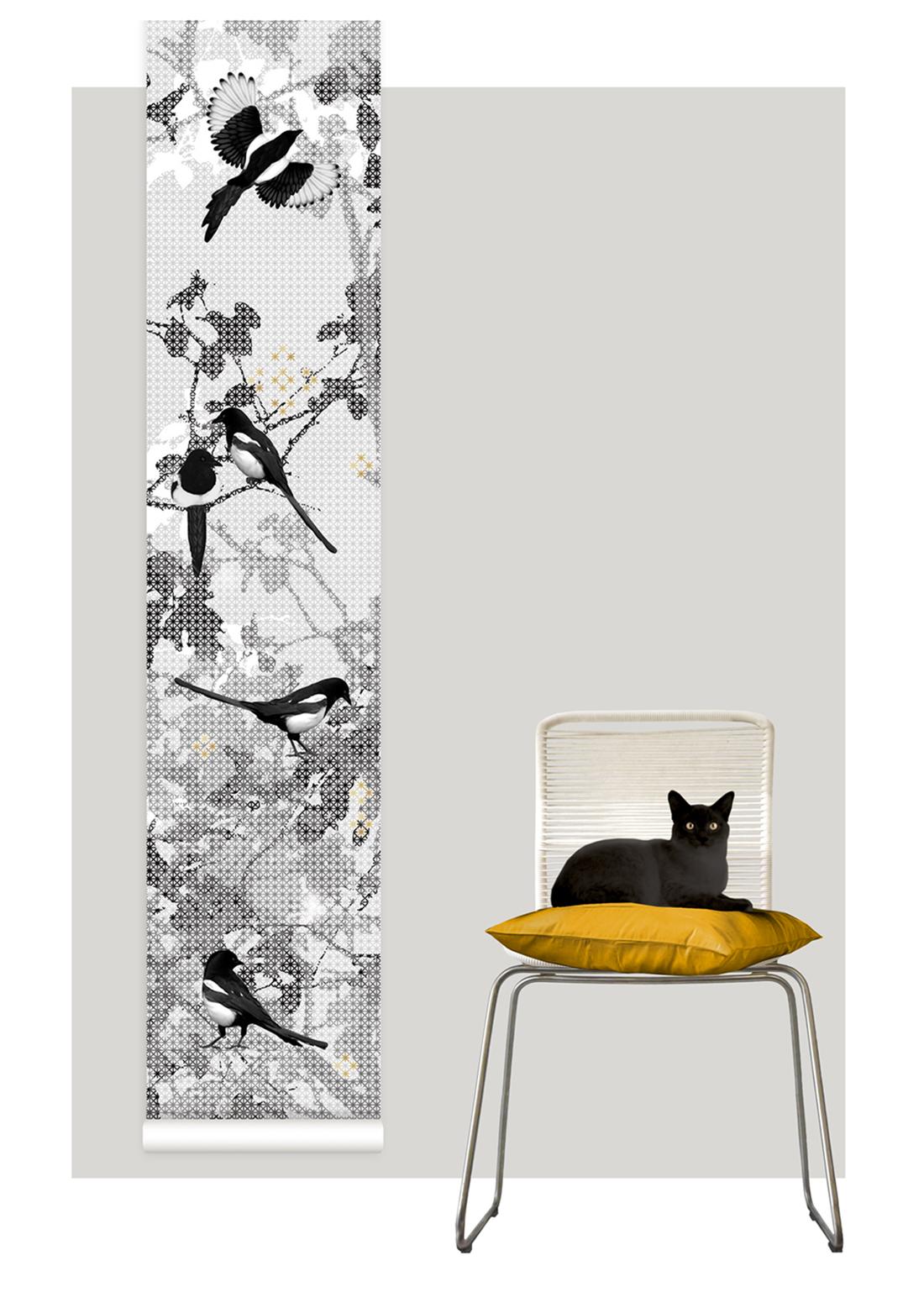 Domestic Sluttery Wallpaper Wednesday Scandinavian Surface