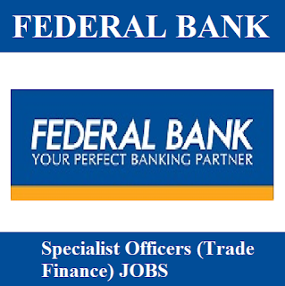 Federal Bank, Bank, Specialist Officer, Graduation, freejobalert, Sarkari Naukri, Latest Jobs, federal bank logo