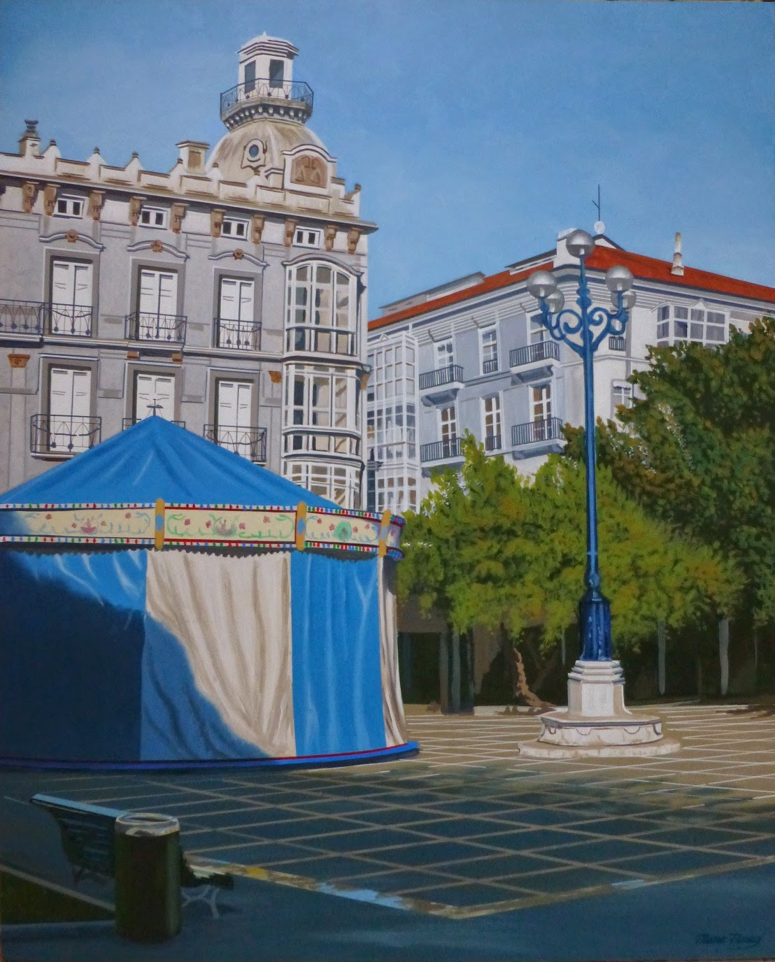 Pombo Square Santander