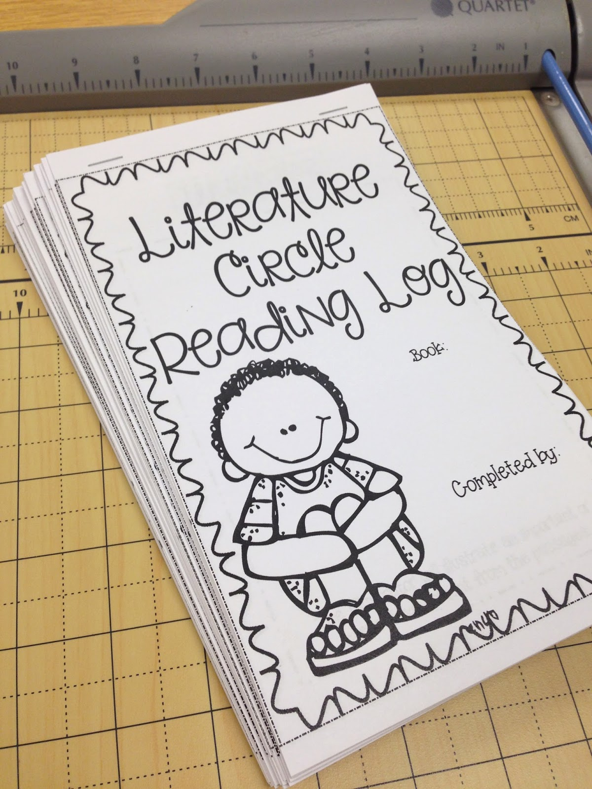 Using Literature Circles Booklets Freebie