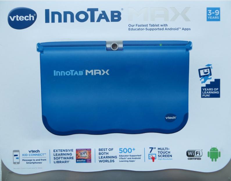 AJ s Gift Ideas   Toy Reviews  VTech InnoTab® MAX Review 07da996c4fe68