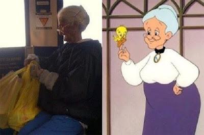 Granny nurse – Looney Tunes