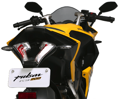 Bajaj Pulsar RS 200 Taillight