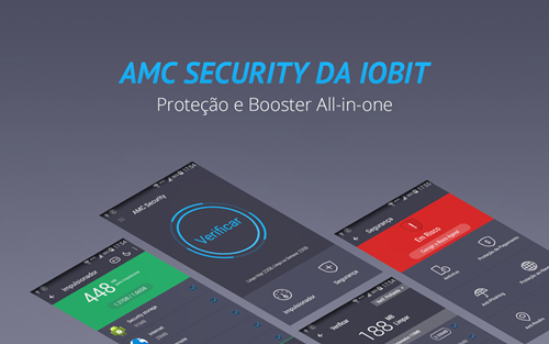 AMC Security – Antivírus e limpador para Android