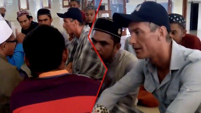 Sempat Gagal Paham, Ke Masjid Dikasih Sarung Malah Buat 'Kemulan', Akhirnya Bule Ini Mantab Masuk Islam