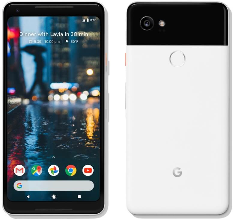 Google Pixel 2 XL Unveiled; With Bigger Display and Battery