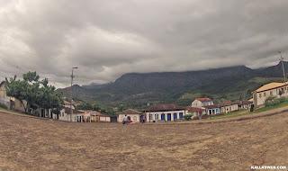 Vista para a Serra do Caraça, em Catas Altas/MG.