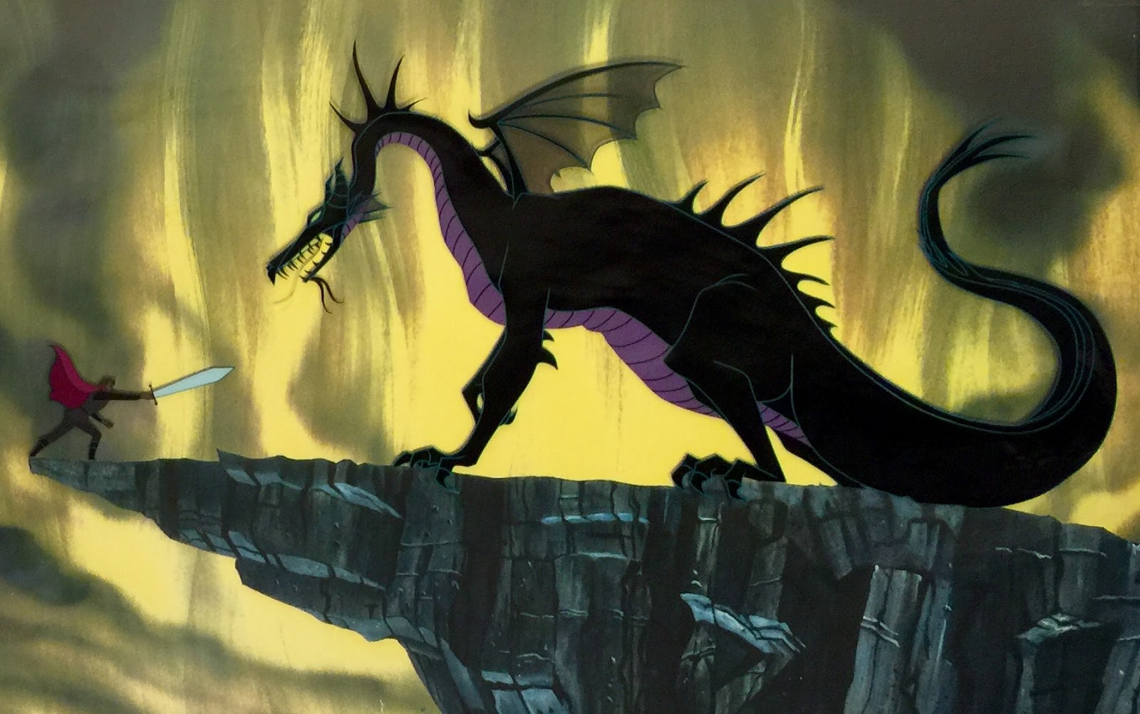 Maleficent Dragon Transformation