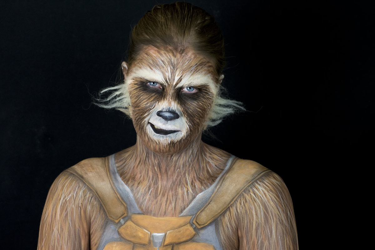 07-Rocket-Raccoon-Guardians-of-the-Galaxy-Marvel-Comics-Kim-Witte-Face-and-Body-Painting-Makeup-Transformations-www-designstack-co