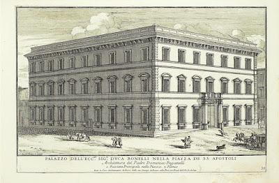 Palazzo Bonelli in Rome (now the Palazzo Valentini)