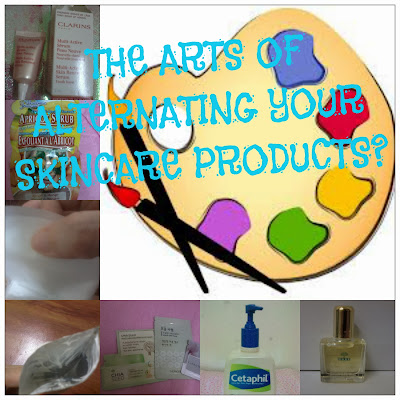 ALTERNATING SKINCARE PRODUCTS