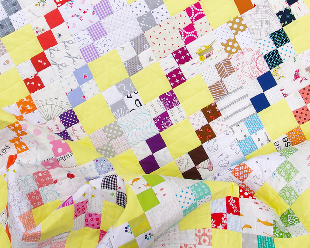 The Summer Rain Quilt | Red Pepper Quilts 2016