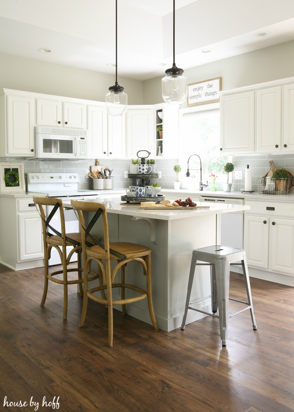 farmhouse kitchen makeover