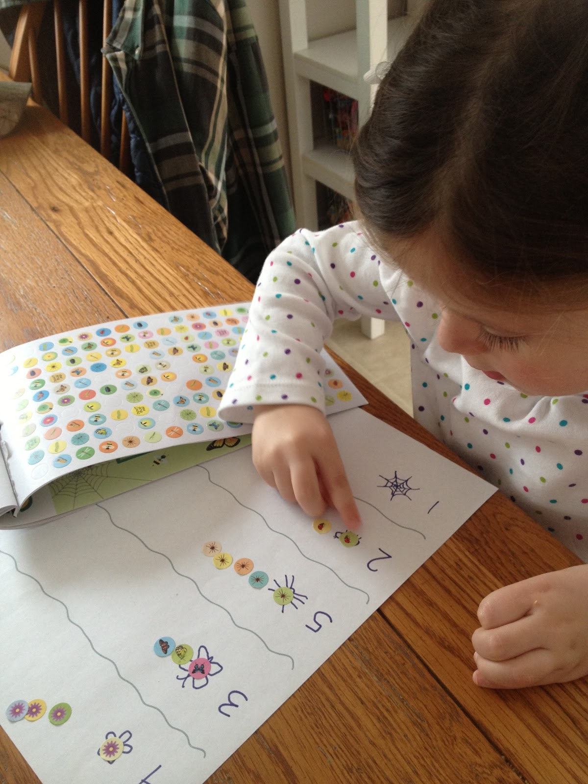 Take Time For Today Toddler Math Worksheet