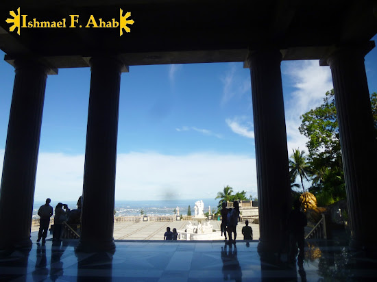 Inside the Temple of Leah in Cebu City