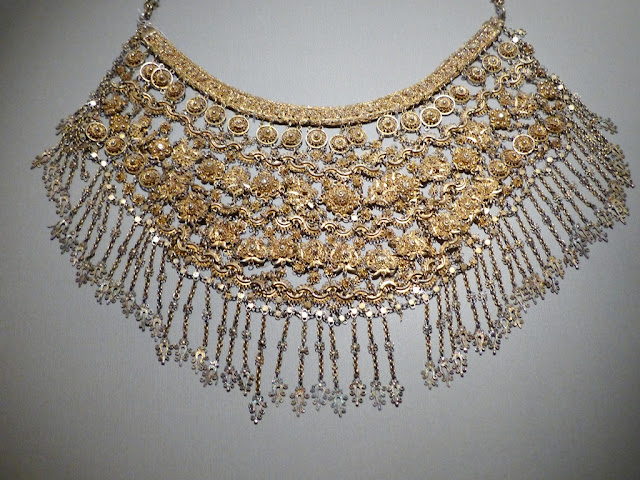 Wedding necklace, Penang, late 19th early 20th century, gilt silver