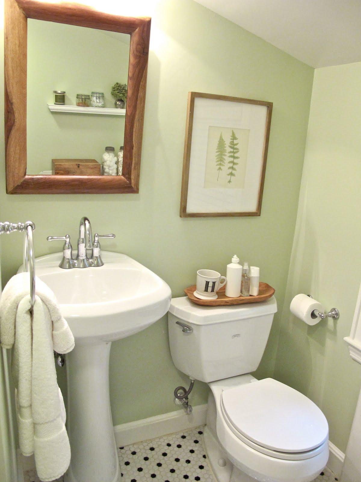 Jenny Steffens Hobick: Bathroom Redo   Pinterest Challenge ...