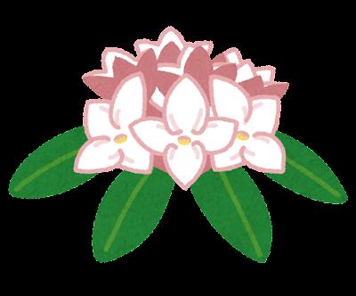 沈丁花のイラスト