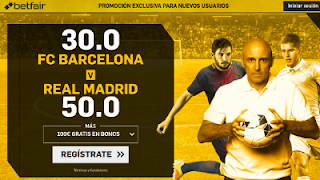 betfair supercuota el clasico Barcelona vs Real Madrid 6 mayo